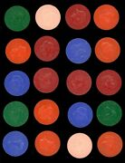 1959 Armour Coins Complete Set 20/20 3 - Includes Color Variations