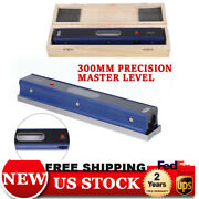 12 Master Precision Level For Machinist Tool 0.02mm/m Usa Carbon Steel