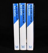 1983-87 3vol The Alphabet Murders Letters A B And C Sue Grafton Signed 1st