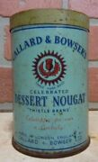 Callard And Bowserand039s Dessert Nougat Old Container Tin London Unopened Candy Desert
