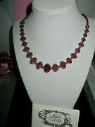 Kirks Folly Rare/signed Camelot Strand Faceted Cut Crystal Necklace Amethyst