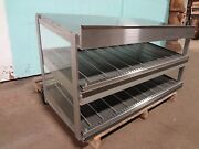 Hatco Commercial H.d. 2 Tier Heated 52w Lighted Display Case / Merchandiser