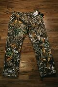 47 Under Armour Ua Realtree Camouflage Brow Tine Camo Pants 1316744-991 L Xl
