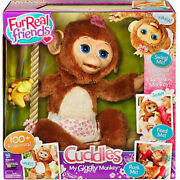 Furreal Friends ❤ Cuddles ❤ My Giggly Monkey Pet Animal Full Size New