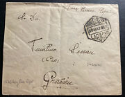 1925 Ceuta Spain First Military Flight Early Airmail Cover Ffc To Larache