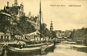 Netherlands Amsterdam - Barge Cornelia Renkum As A House With Laundry Work Ppc