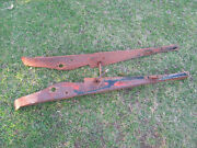 1928-1929 Buick Front Fender Aprons Below Hood And Lower Radiator Support