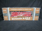 Mth Railking Rugged Rails Nyc New York Central Woodsided Caboose 33-7802