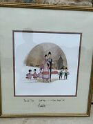 Rare P. Buckley Moss Apple Day 1986 Sold Out Signed Ltd Edition Art Print 25