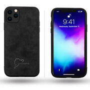 For Iphone 11 Pro Ultra Light Alcantara Suede Nurburgring Race Track Map Case
