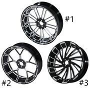 18and039and039 X 5.5and039and039 Rear Wheel Rim Fit For Harley Touring Fltr Flht Flhr Non Abs 08-21