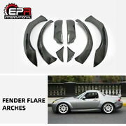 For Mazda Mx5 Roaster Miata Nc Carbon Tp Style Front And Rear Fender Flares Sets