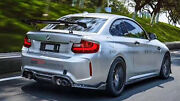 New Rear Trunk Gt Spoiler Wing Lip Part Kits For Bmw F87 M2 A-style Carbon Fiber