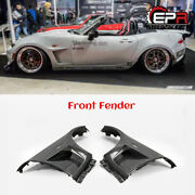 For Miata Mx5 Nd5rc Nd Roadster Gv Style Carbon Front Fender Gud Muards Bodykits