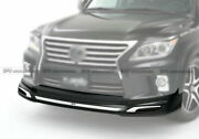 For 2012+ Toyota Land Cruiser 200 Jas Type Frp Front Lip Wing With Chrome Parts