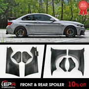 Manh-style Frp Wide +60mm Front And Rear Fender Mudguards For Bmw F22 2-series