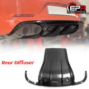 Vor Style For Porsche 911 991 Carbon Fiber Rear Bumper Diffuser Add On Body Kits