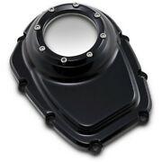 Trask Assault Series Black Cam Cover Accent Harley 17+ M-eight Softail Touring
