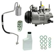 Ryc Remanufactured Complete Ac Compressor Kit Ed07 Aig342 Without Rear
