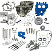 Sands 88 To 100 Power Package Black Gear Drive 585ge Cam Harley Twin Cam 99-06
