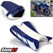 Yamaha R1 Seat Covers 2009-2014 Luimoto Front Rear Limited Edition Blue White