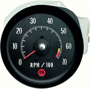 Oer Tachometer 6500 Red Line 1971 Chevy Chevelle Ss And Monte Carlo Ls6