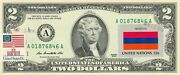 2 Dollars 2009 Stamp Cancel Flag Of Un From Armenia Value 125