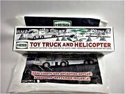 Hess Truck With Helicopter 2006 Brand New Original Box And Shopping Bag