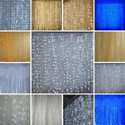Backdrop 18ft X 9ft Organza Led Lights Photo Background Party Decorations Sale