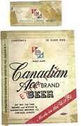 Irtp Beer Label Manhattan Brewing Chicago Illinois Canadian Ace Brand Extra Ale