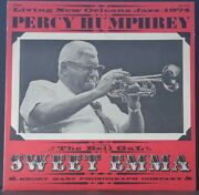 Percy Humphrey Feat. Sweet Emma - Living New Orleans Jazz 1974 Smoky Mary Us Lp