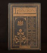 1879 London A Complete Guide Places Of Amusements Illustrated 1st Very Scarce