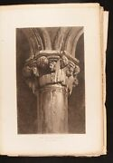 1887 Examples Of The Architecture Of Venice Ruskin Very Scarce Large Paper Illus
