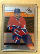 2018-19 Sp Game Used Hockey 93 Larry Robinson - Montreal Candiens 001/185