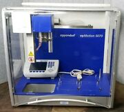 Eppendorf Epmotion 5070 Automated Liquid Handling Pipetting Workstation Control