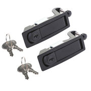 2x Compression Latch Lever Lock For Horsebox Trailers Locker Doors Box