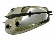 Indian Chief Pre War 1930and039s Chromed Alloy Gas Fuel Petrol Tank