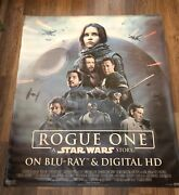 Star Wars Rogue One Blu-ray Release Giant Vinyl Banner 5ft Long