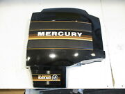 Fits Mercury Black Max Outboard Stbd Right Side Clam Shell Cowl Cover Black Brow