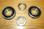 1955 1956 Chevy Rear Axle Bearings With O-ring Seals New Pair