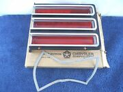 Left Tail Light Lens And Bezel 1967 Chrysler Town And Country Newport Station Wagon