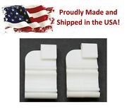 2 Pack 1967-72 Gm A Body Headliner Center Bow Plastic Snap Clips Set 4012532681