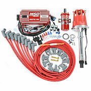 Msd Ignition 85551k Billet Distributor Ignition Kit Fits Small Block Chevy V8and039s