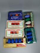28 Replacement Christmas Light Bulbs In/outdoor Sz C-9 1/4 Vintage New Old Stock