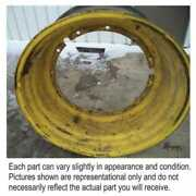 Used 20and039 X 42and039 12 Bolt Plate Rim Compatible With John Deere 7720 7700 9400 7810