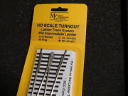 Micro- Engineering 14-817 Ho Ladder Track System Turnout Rh 5d Code 70