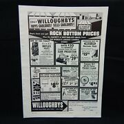 Willoughbys Camera Store N.y. 1957 Magazine Advertisement Photography