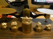 Very Rare Late 1960and039s Early 1970and039s Gm Truck Service Award Scale Parts 4 Weights