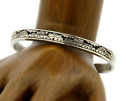 Womenand039s Navajo Bracelet 14k And Silver Mm Rogers Cuff C.80and039s