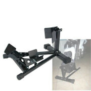 New Motorcycle Front Wheel Trailer Clamp Chock Stand Support